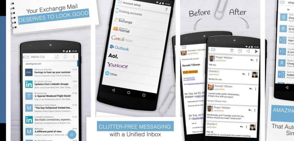 CLUTTER FREE MESSAGING
