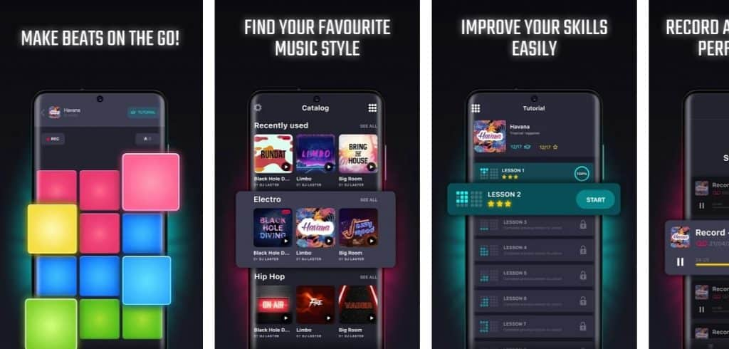 versatile music maker apps for android