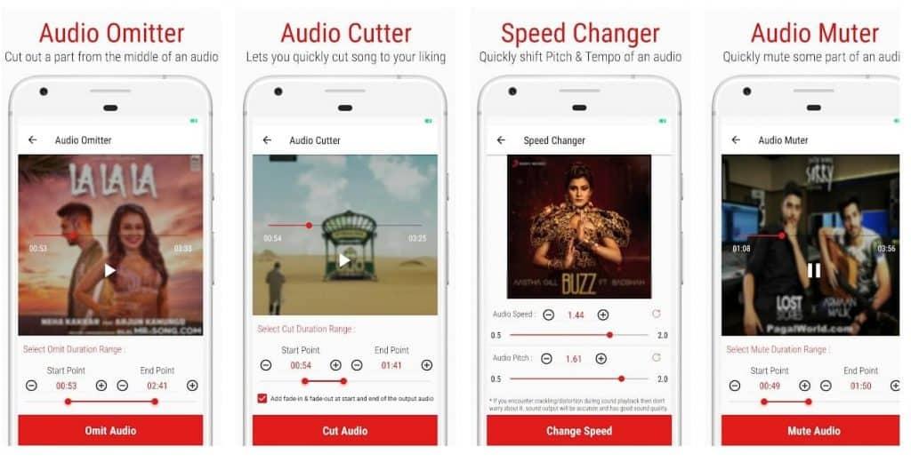 audio editing app