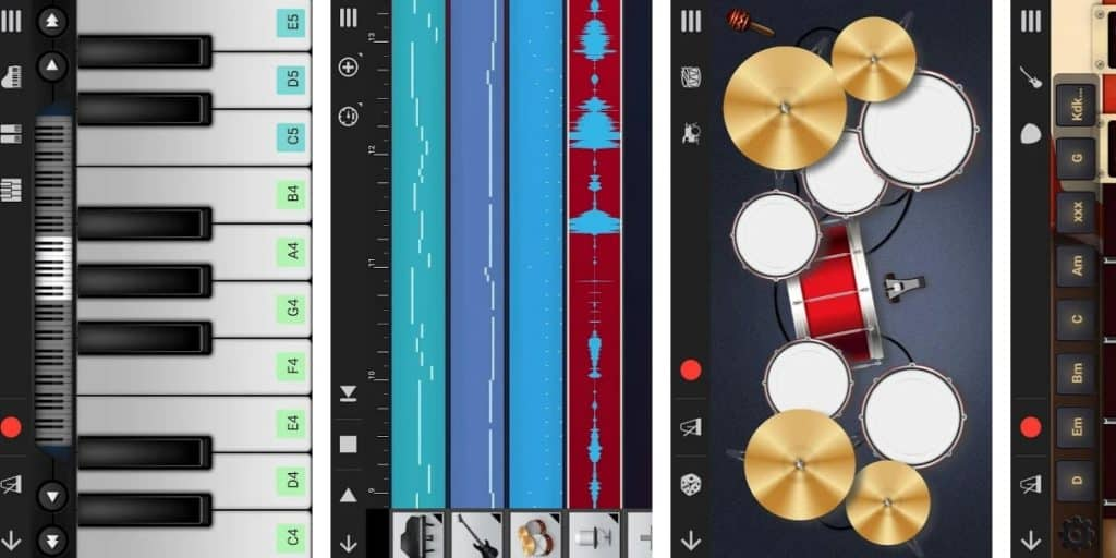 best apps for making music on android