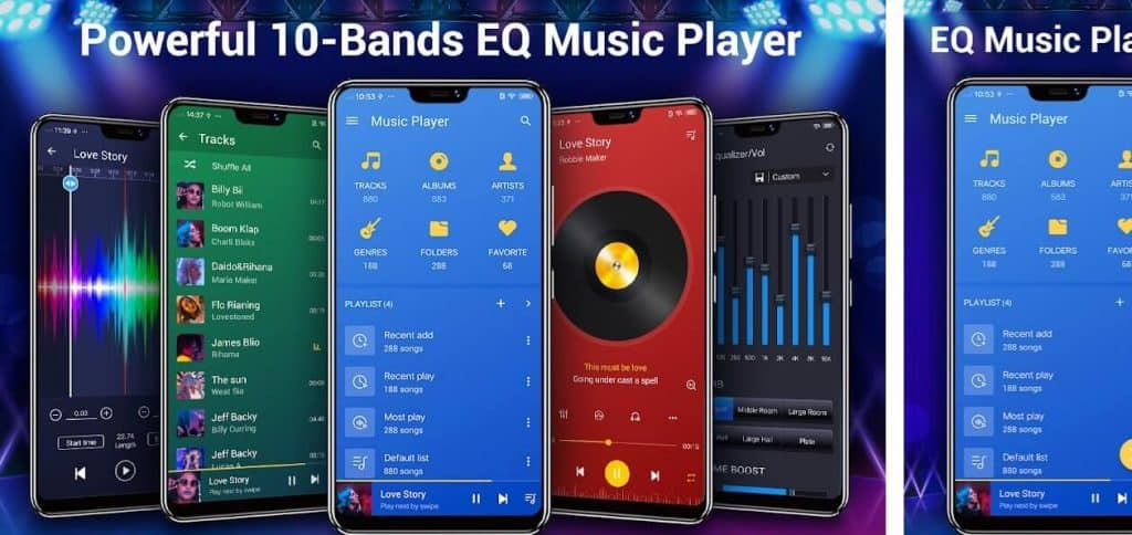 music equalizer apps for android